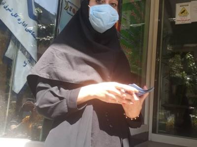 پروژه پروموتینگ میدانی پانچ کارت (شرکت مهندسی متین رایانه آریان)، مقابل شعبه 9 اداره کل بیمه تامین اجتماعی تهران بزرگ (سهروردي شمالی، هویزه غربی)، شهریور 1399